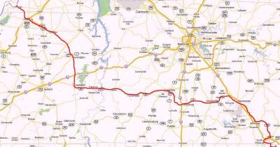 Vol-State 500km Road Race Road Book